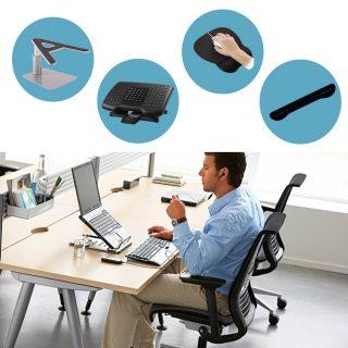 Kit 4 Home Office Ergo